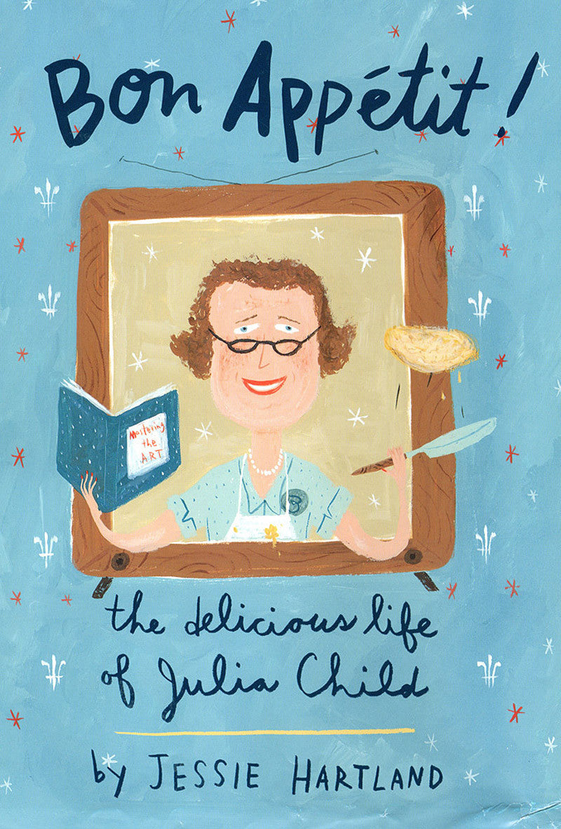 bon appétit! the delicious life of julia child - www.mignonshop.com - 1