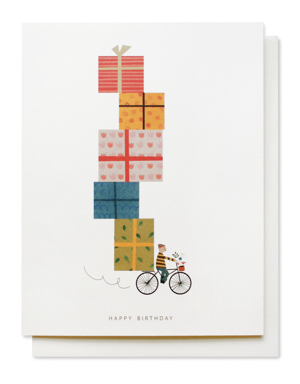 birthday bike card - www.mignonshop.com