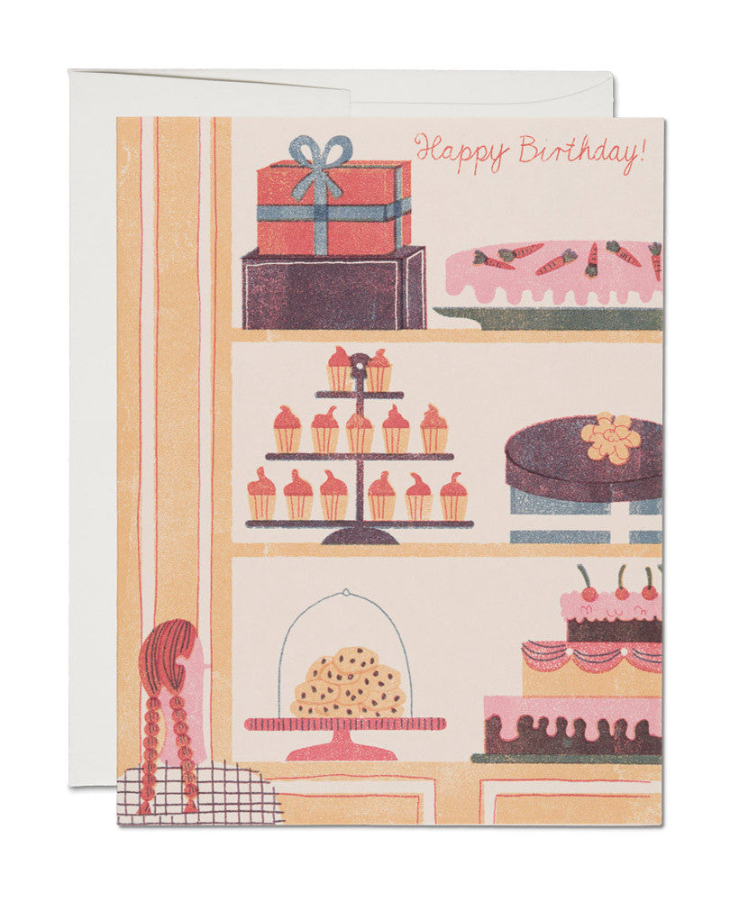 cakes in the window card - www.mignonshop.com