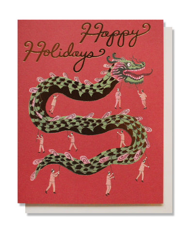 holiday dragon card - www.mignonshop.com