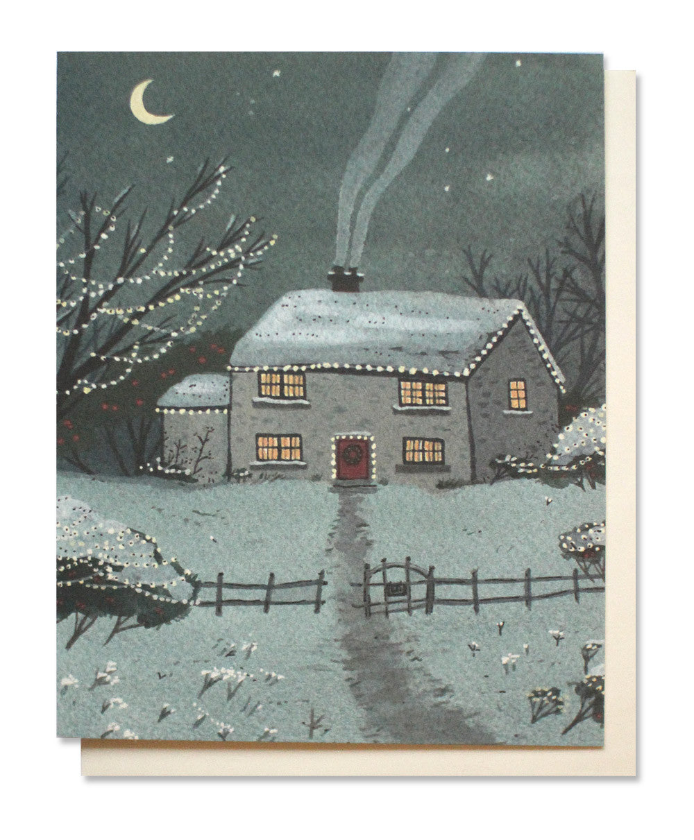 holiday house card - www.mignonshop.com