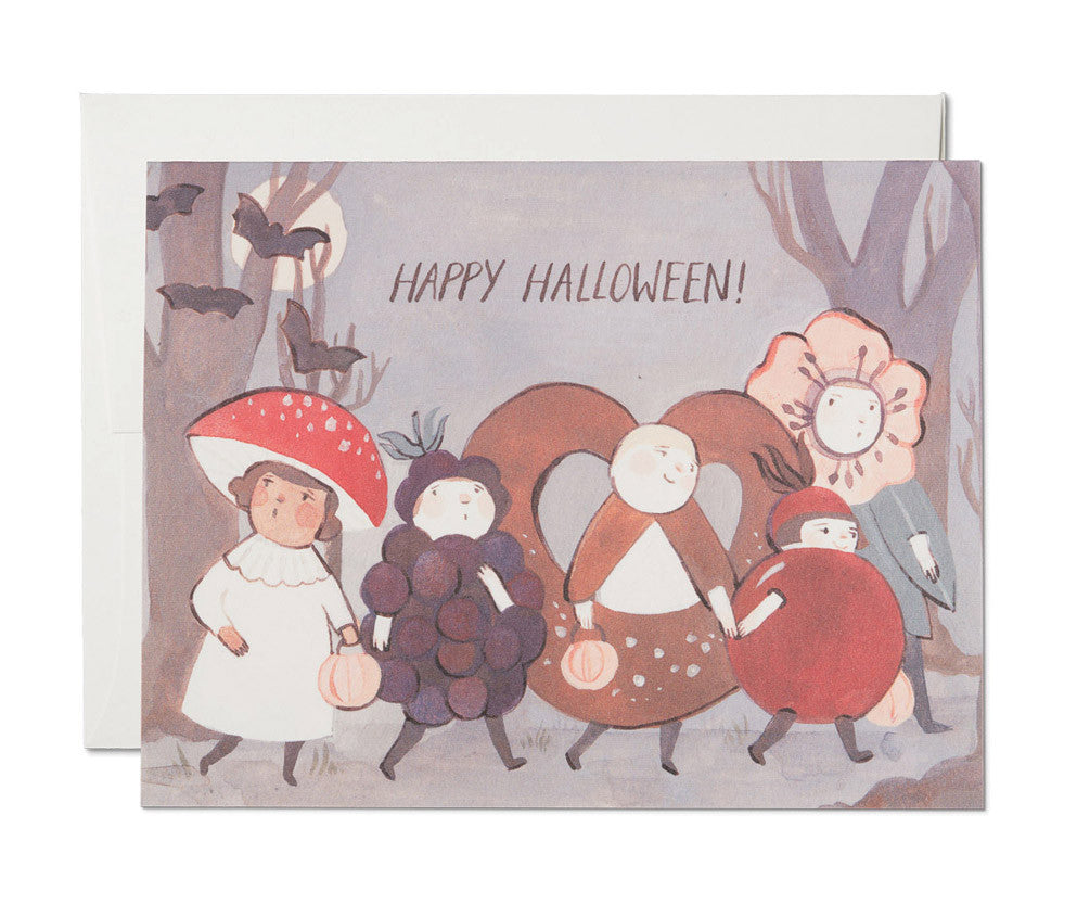 halloween kids card - www.mignonshop.com