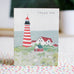 maine lighthouse thank you card - www.mignonshop.com - 2