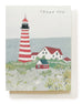 maine lighthouse thank you card - www.mignonshop.com - 1