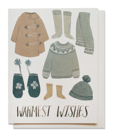 snow clothes card - www.mignonshop.com
