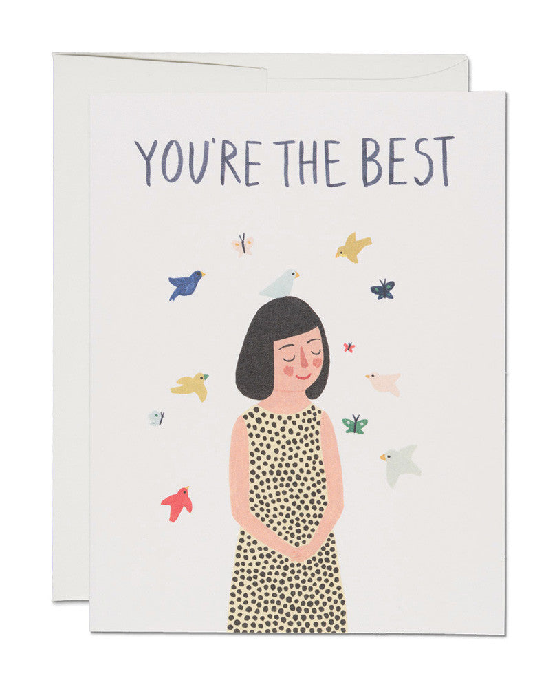 you're the best card - www.mignonshop.com