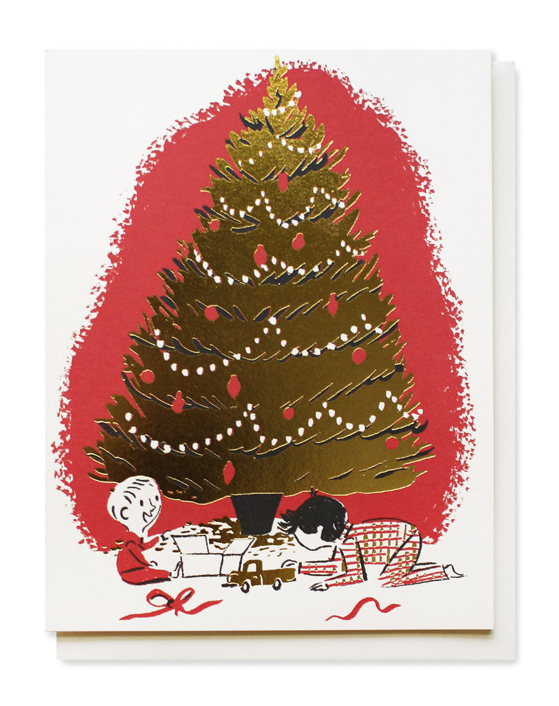 under the tree card - www.mignonshop.com