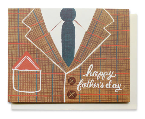 tweed father's day card - www.mignonshop.com