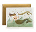 mermaid birthday card - www.mignonshop.com - 1