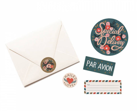 par avion stickers & labels - www.mignonshop.com - 1