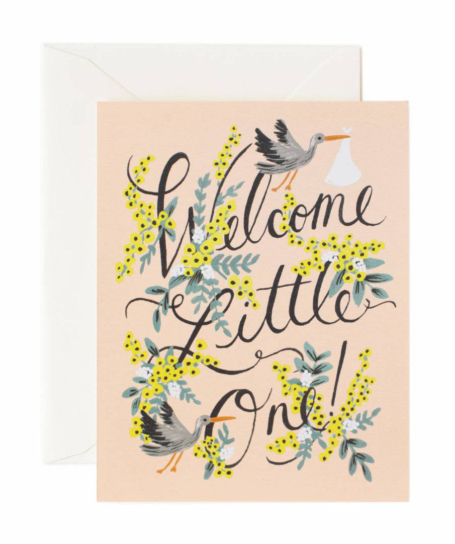 welcome little one card - www.mignonshop.com