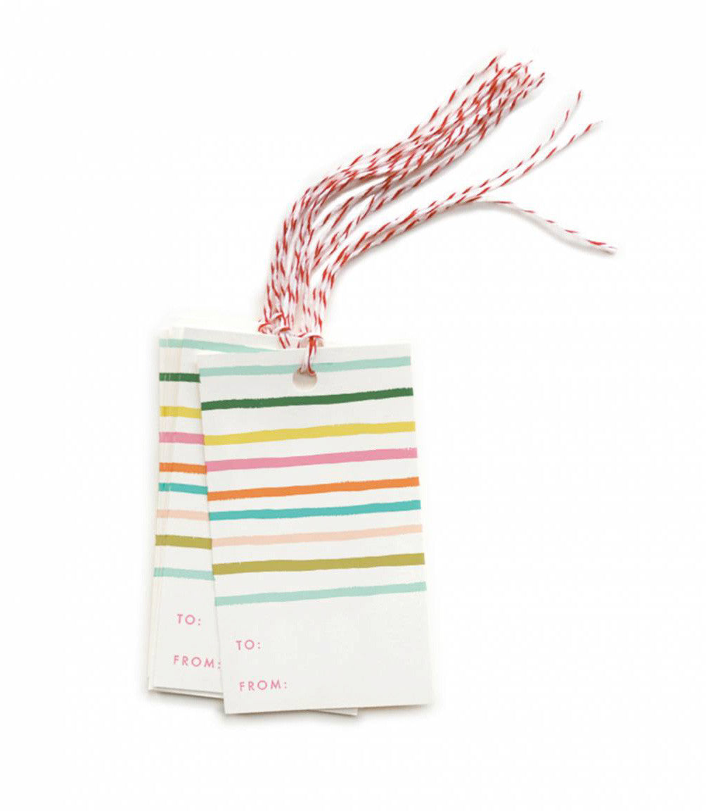 happy stripe gift tags - www.mignonshop.com - 1