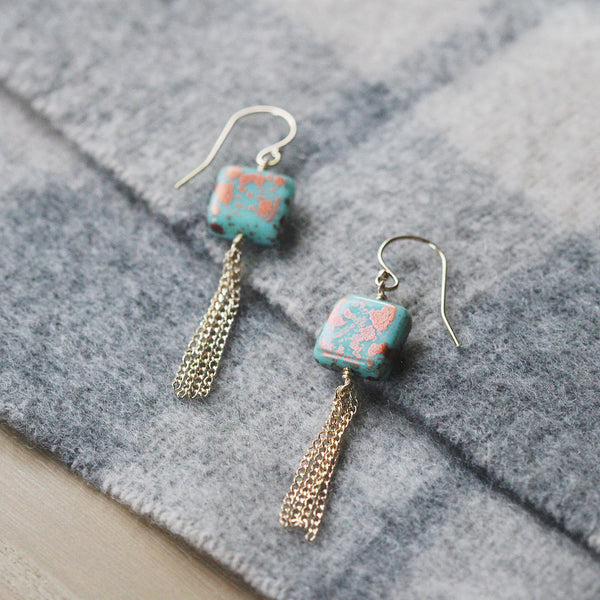 santorini earrings - www.mignonshop.com - 3