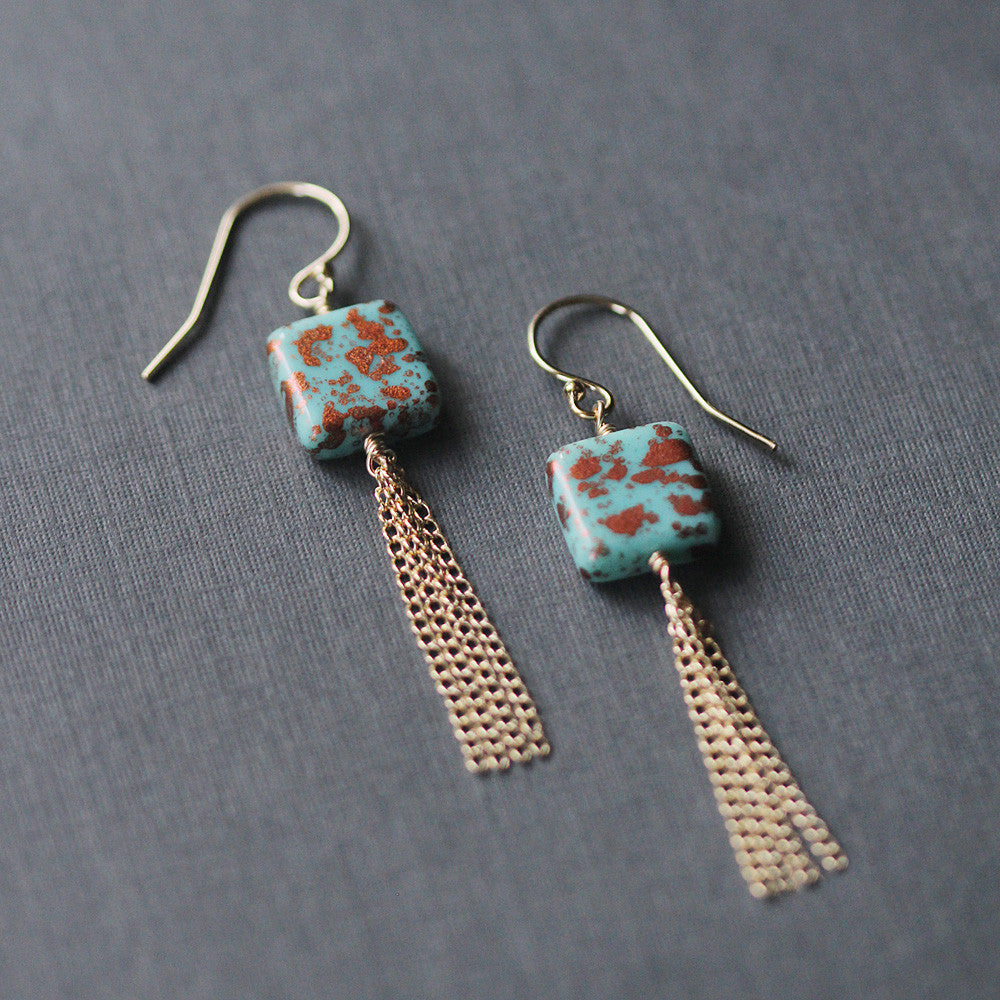 santorini earrings - www.mignonshop.com - 1