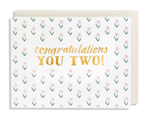 congratulations you two card - www.mignonshop.com - 1