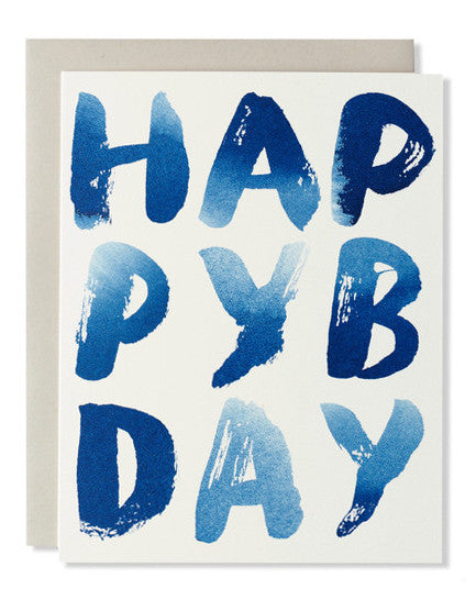 happy b-day indigo card - www.mignonshop.com - 1