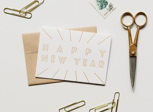 happy new year card - www.mignonshop.com - 2