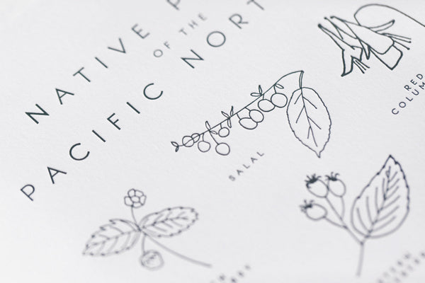 native plants of the pacific northwest print - www.mignonshop.com - 3