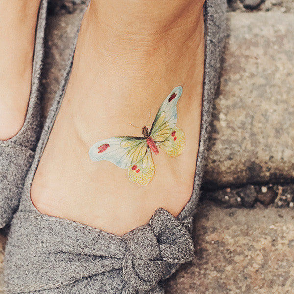 butterfly temporary tattoo - www.mignonshop.com - 4