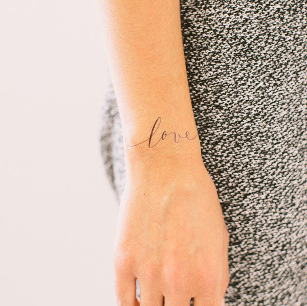 just love temporary tattoo - www.mignonshop.com - 3