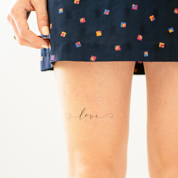 just love temporary tattoo - www.mignonshop.com - 4