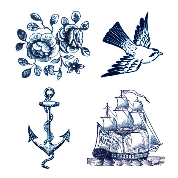 nautical temporary tattoos - www.mignonshop.com - 4