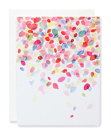 colorful dots falling card - www.mignonshop.com