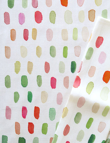 dot watercolor tea towel - www.mignonshop.com - 3