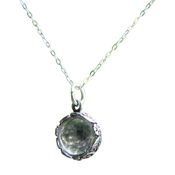 Botanical Sterling Silver Necklace