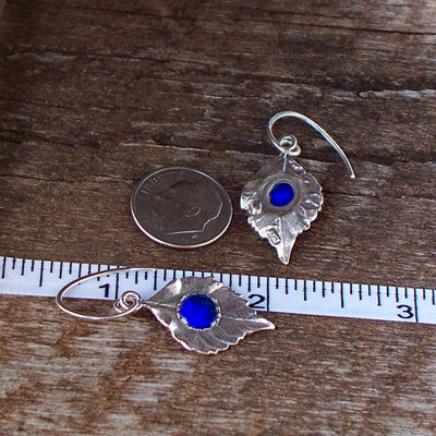 Leaves in Sterling Silver Earrings