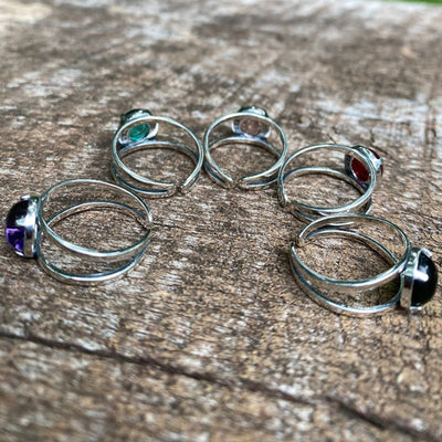 Double Band Ring in Sterling Silver