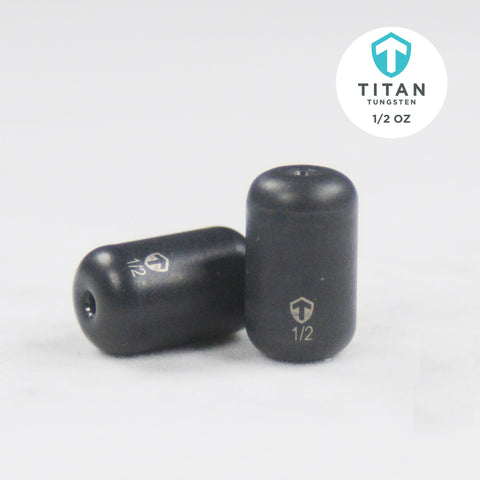 Pro-Series Tungsten Barrel/Carolina Rig Weights - Titan Tungsten