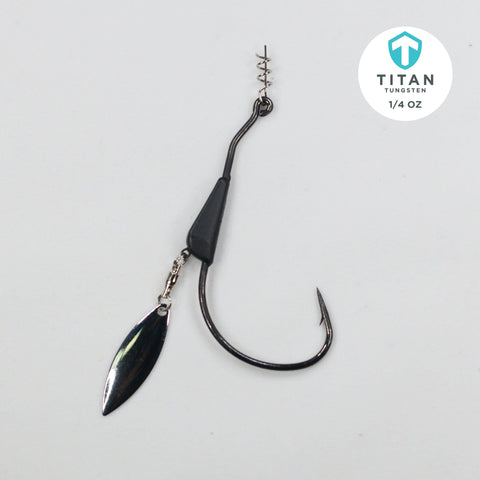 Tungsten Bladed Swimbait Hook