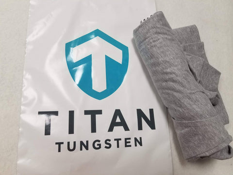 Image of Titan Tungsten Long Sleeve Bass Shirt - Titan Tungsten