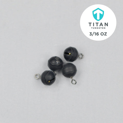 "Pro-Series ""Cannonball"" Drop-Shot - Titan Tungsten"
