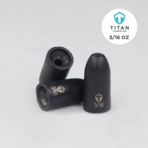 Pro-Series Tungsten Worm Weights - Titan Tungsten