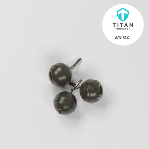 "Image of Pro-Series ""Cannonball"" Drop-Shot - Titan Tungsten"