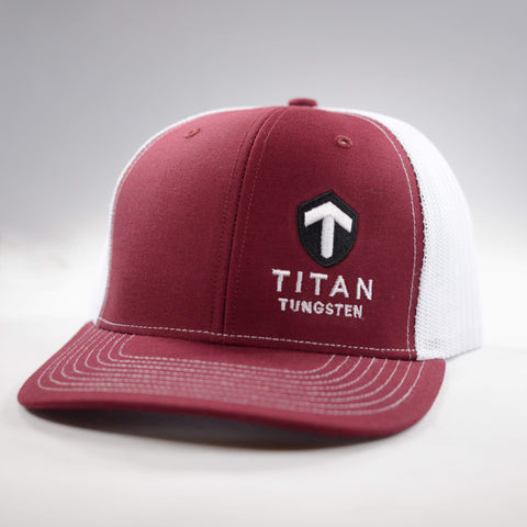 Titan Snap-Back Hat - Titan Tungsten