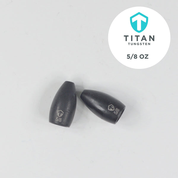 Pro-Series Tungsten Flipping Weights - Titan Tungsten