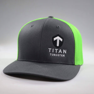 Titan FlexFit Hats - Titan Tungsten