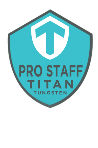 Image of Team Titan Staff UV Decal - Titan Tungsten