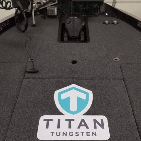 Extra Large Carpet Decal - Titan Tungsten