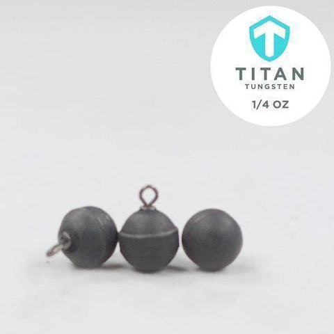 Standard Tungsten DropShot Weights - Titan Tungsten