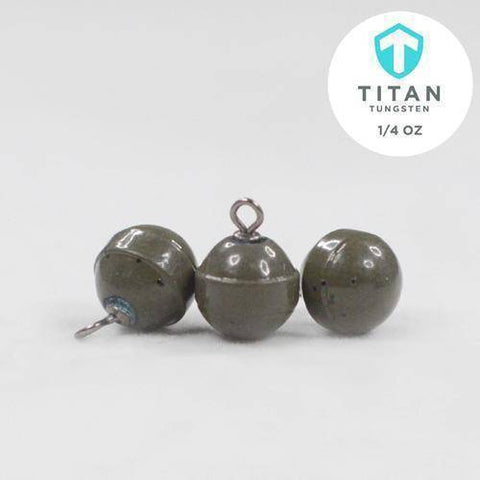 Image of Standard Tungsten DropShot Weights - Titan Tungsten