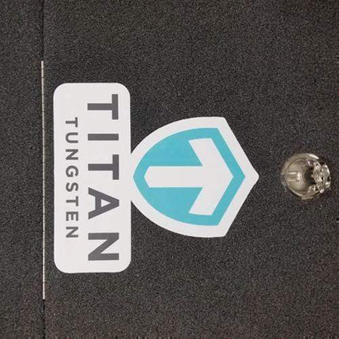 Team Titan Carpet Decal LARGE - Titan Tungsten
