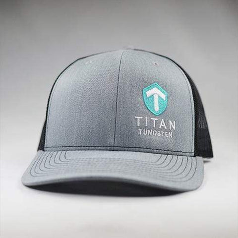 Image of Titan Snap-Back Hat - Titan Tungsten