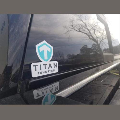 Titan Tungsten UV Decals (Boat+Truck) - Titan Tungsten