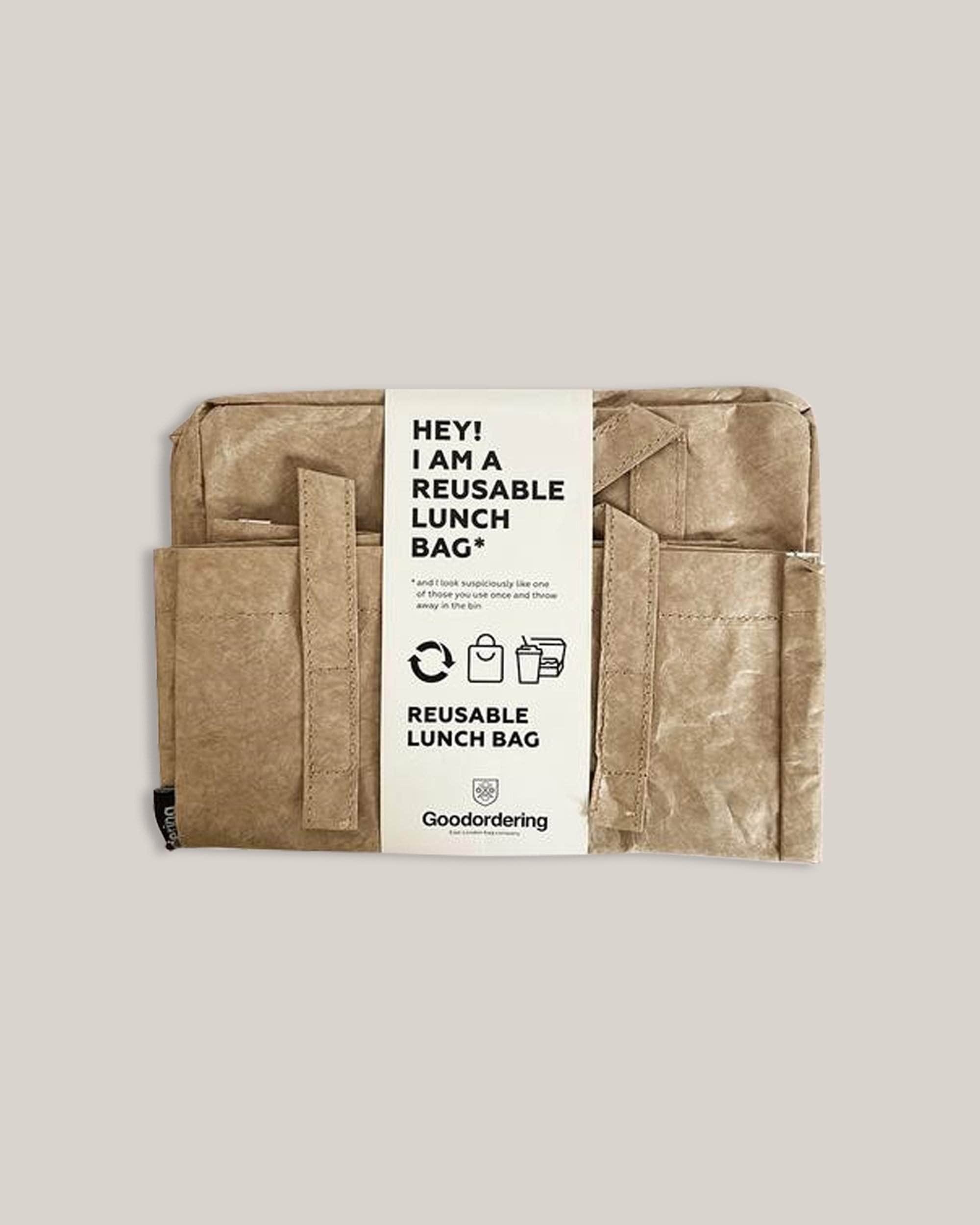 Goodordering - Sustainable Lunchbag - Eco Lunchbag - Reusable Lunchbag