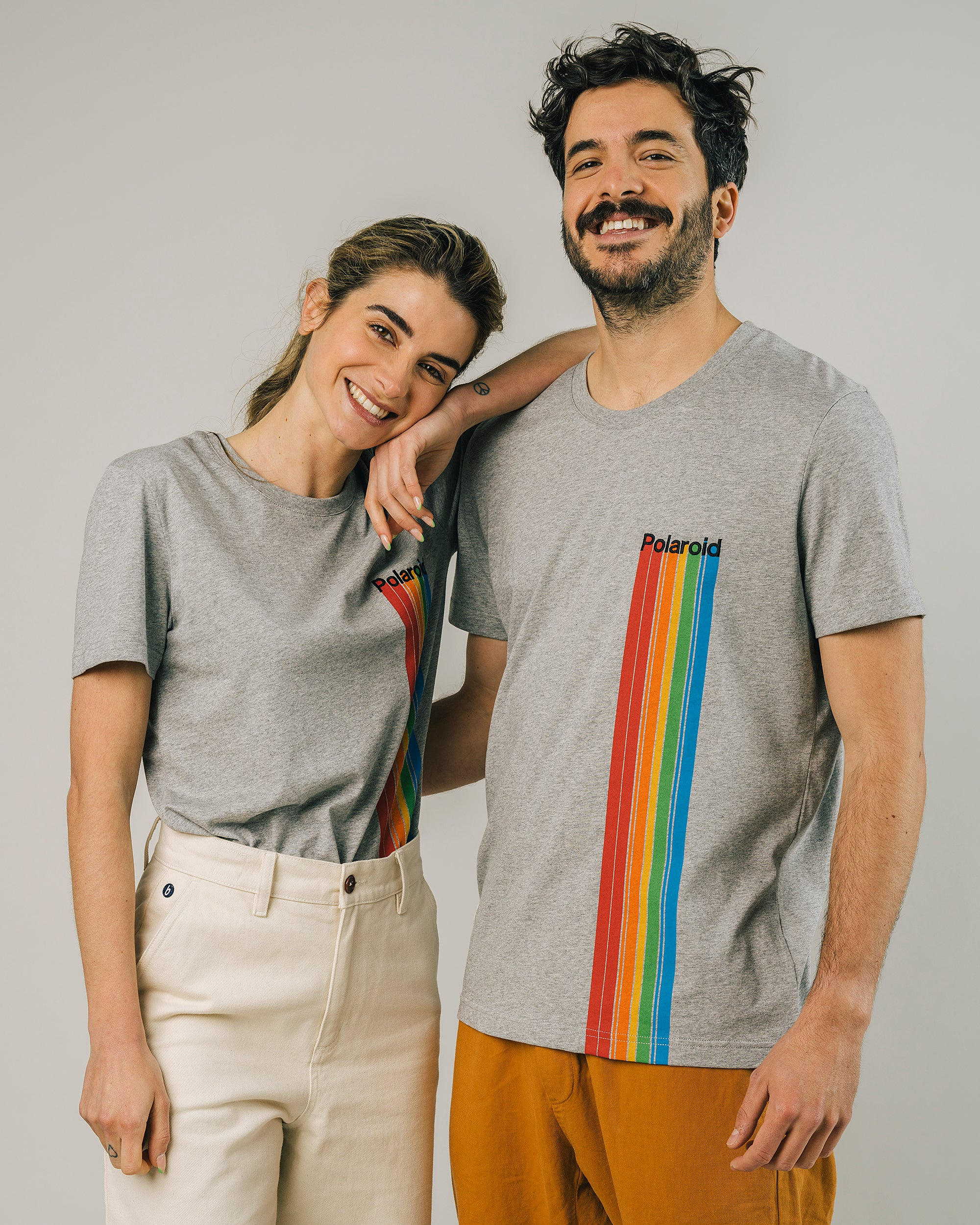Polaroid Spectrum T-Shirt Grey