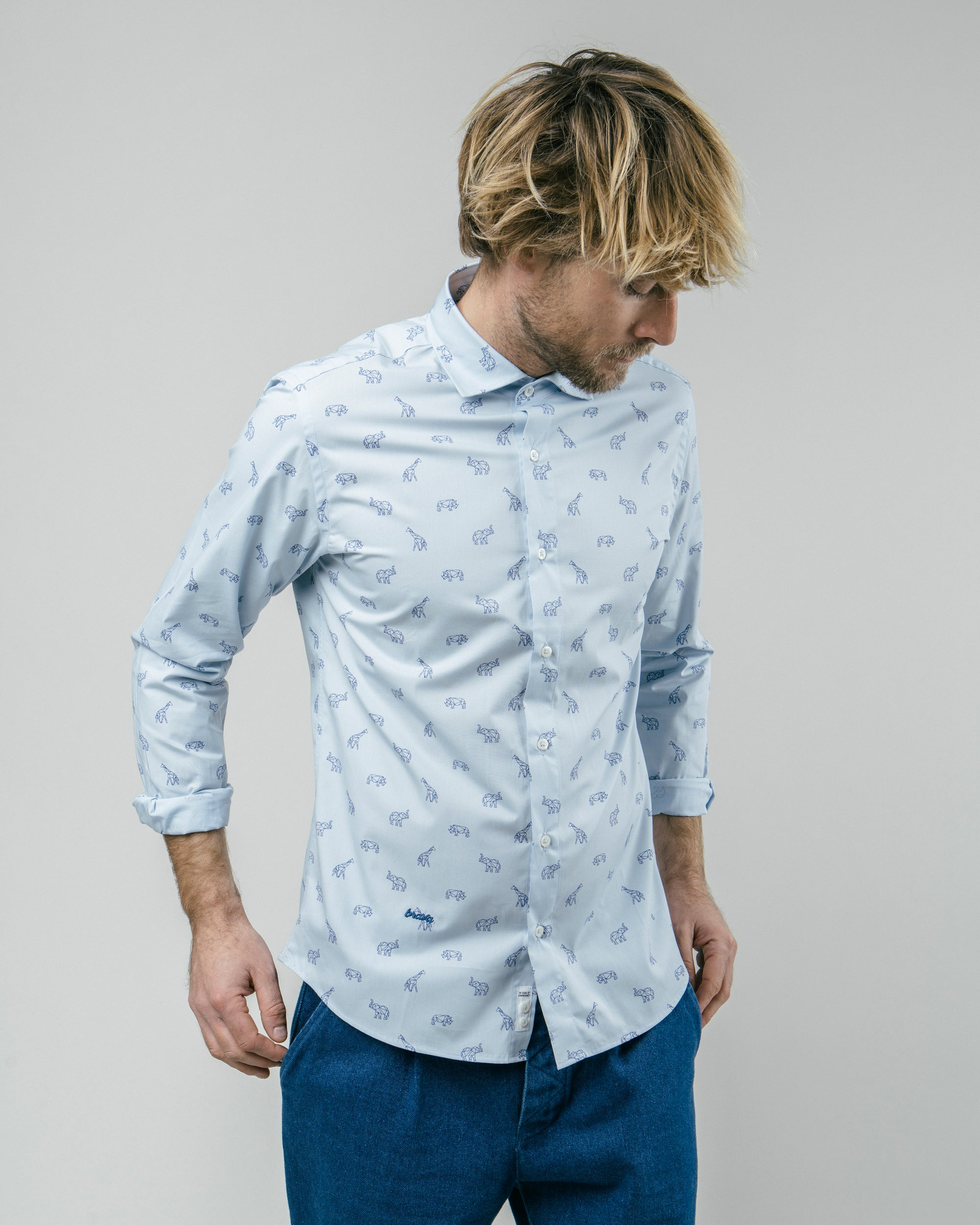 From The Future To Savannah Printed Shirt